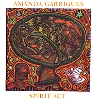 Music CD Spirit Act by Amanda Garrigues